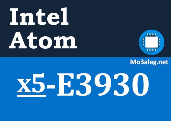 Intel Atom x5-E3930