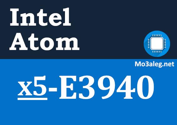 Intel Atom x5-E3940