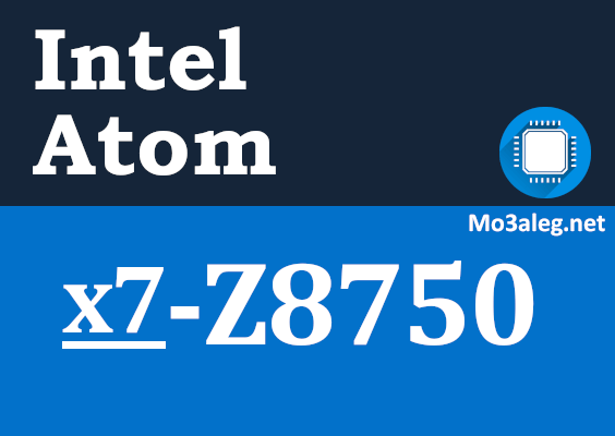 Intel Atom x7-Z8750